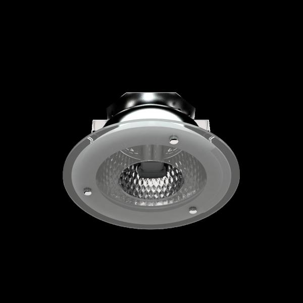 Светильник DLF направленного света с компактными люминесцентными лампами фото, цена