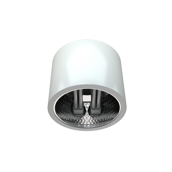 Светильник DLX направленного света с компактными люминесцентными лампами фото, цена