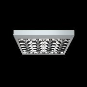 Торговое и офисное освещение Светильник PRBLUX/S с двойной зеркальной параболической решеткой фото, цена
