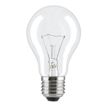 Лампа накаливания стандартная прозрачная 60A1/CL/E27 General Electric фото, цена