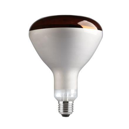 Лампа накаливания рефлекторная инфракрасная с красной колбой 250R/IR/R/E27 General Electric фото, цена
