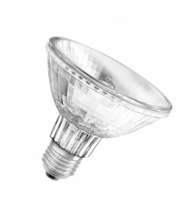 Лампа галогенная 64841 FL Ø 97 мм, 30 º, 75W, 2900 K Osram фото, цена