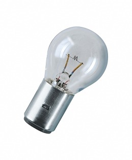 Лампа низковольтная без галогенов 8024 40W 12V BA20D 100X1 Osram фото, цена