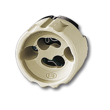 Патрон для галогенных ламп накаливания (GU10) фото, цена