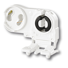 Патрон для люминесцентных ламп (G13, устанавливаемый с лицевой стороны) фото, цена