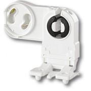 Соединительные элементы (Патроны для ламп) Патрон для люминесцентных ламп (G13, устанавливаемый с лицевой стороны) фото, цена
