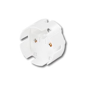 Патрон для люминесцентных ламп (накидной) G13 фото, цена
