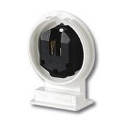 Соединительные элементы Патрон пылевлагозащищенный для люминесцентных ламп фото, цена