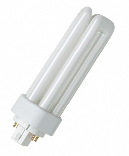 Лампа компактная люминесцентная DULUX T/E 26W/830 Osram фото, цена
