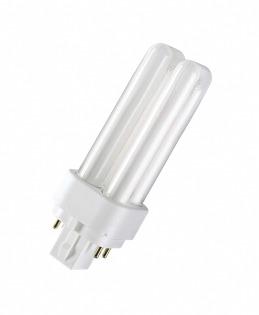 Лампа компактная люминесцентная DULUX D/E 13W/830 Osram фото, цена
