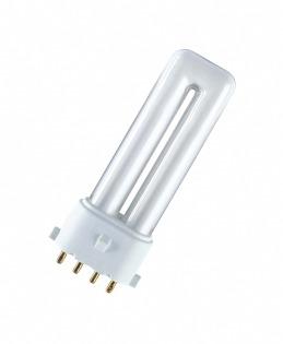 Лампа люминесцентная компактная DULUX S/E 7W/840 Osram фото, цена