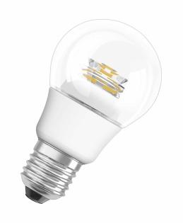Лампа светодиодная PARATOM CL A40 6W/840 фото, цена