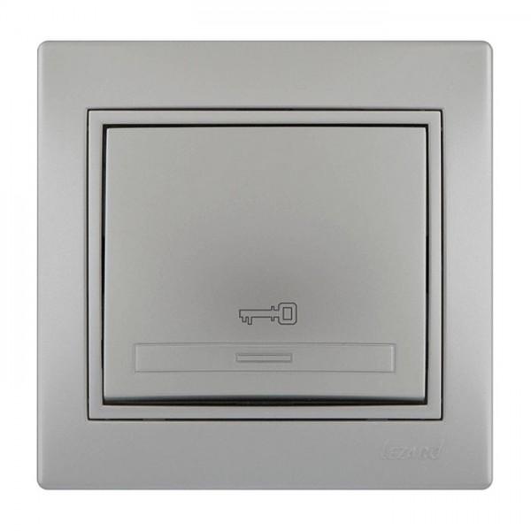 Кнопка дверного автомата, серый металлик, Mira фото, цена