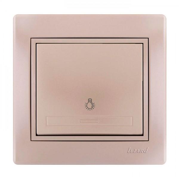 Кнопка таймера, жемчужно-белый металлик, Mira фото, цена