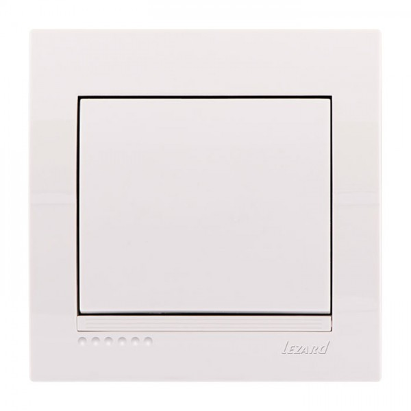 Выключатель, белый, Deriy фото, цена