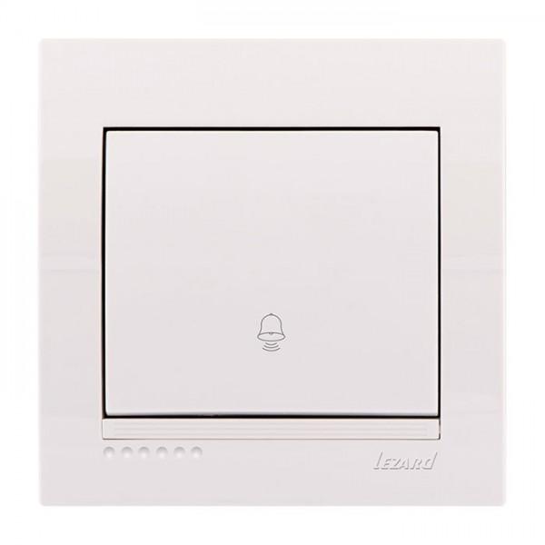 Кнопка звонка, белый, Deriy фото, цена