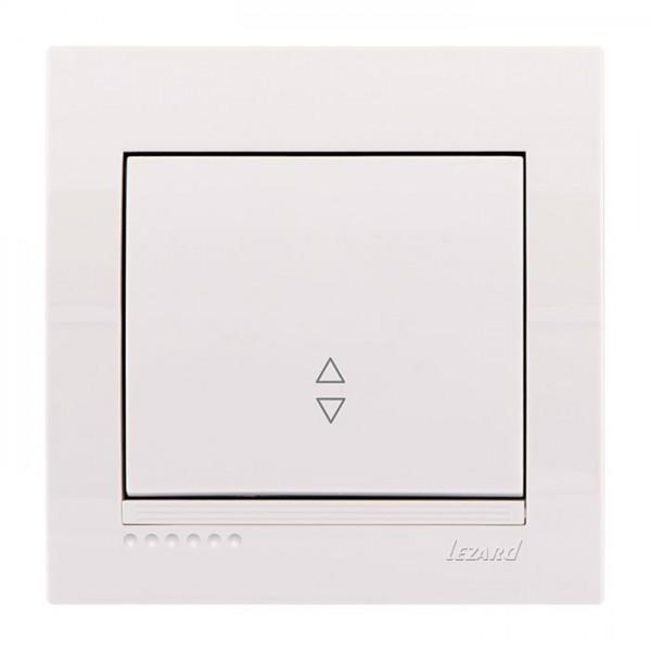 Выключатель проходной, белый, Deriy фото, цена
