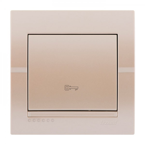 Кнопка дверного автомата, жемчужно-белый металлик, Deriy фото, цена