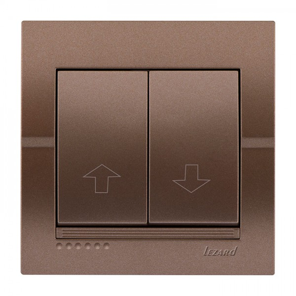 Коммутатор жалюзи, светло-коричневый металлик, Deriy фото, цена