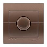 Выключатели Диммер 500 Вт с фильтром, светло-коричневый металлик, Deriy фото, цена