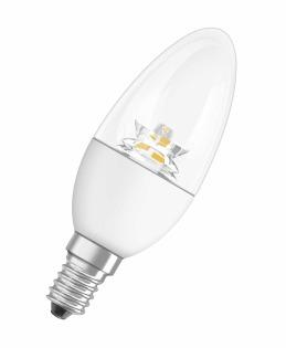 Лампа светодиодная SUPERSTAR CLASSIC B 40 DIM 5.7 W/827 фото, цена