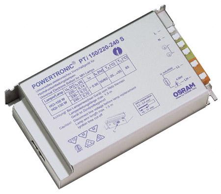 ЭПРА для газоразрядных ламп PTI 150/220-240 S фото, цена