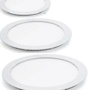 Светодиодные (LED) панели Светодиодная панель круглая 9Вт внутренней установки, 6400K фото, цена