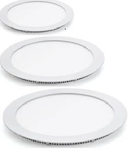 Светодиодная панель круглая 9Вт внутренней установки, 6400K фото, цена