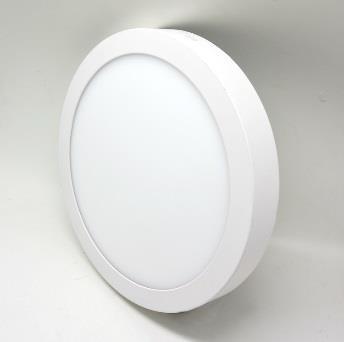 Светодиодная панель круглая 12Вт накладная, 4200K фото, цена