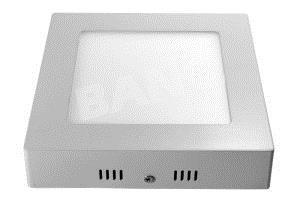 Светодиодная панель квадратная 18Вт накладная, 4200K фото, цена