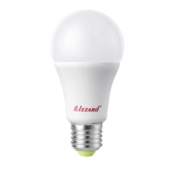 Лампа светодиодная LED Глоб, 9W - E27, 2700K, Lezard фото, цена