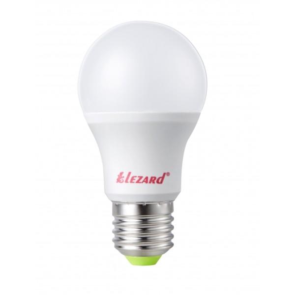 Лампа светодиодная LED Глоб, 5W - E27, 4200K Lezard фото, цена