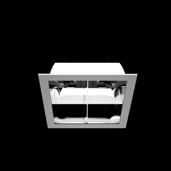 Світильник DLM спрямованого світла з компактними люмінесцентними лампами фото, цена