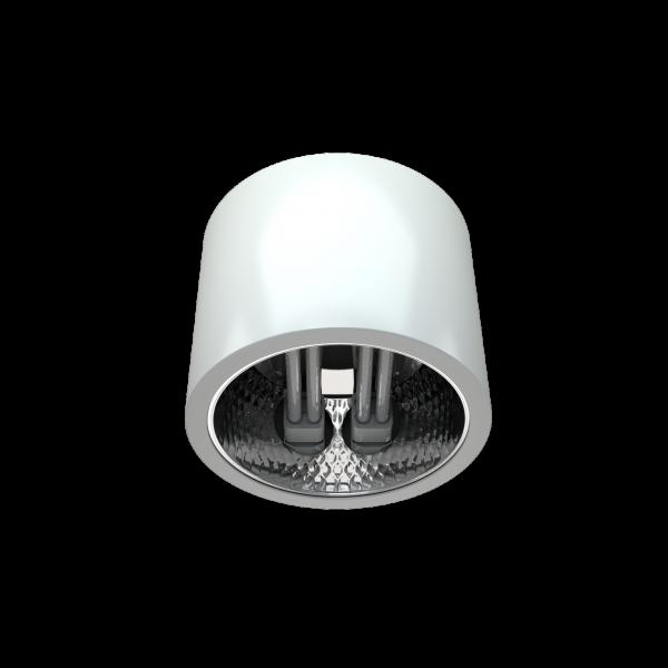Світильник DLX спрямованого світла з компактними люмінесцентними лампами фото, цена