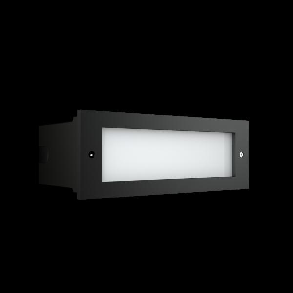 Светильник NBR 41, встраиваемый в стены (ступеньки) фото, цена