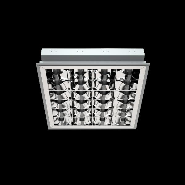 Светильник PRB/R с зеркальной параболической решеткой фото, цена