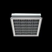 Торговое и офисное освещение Светильник PRBLUX/R mat  с двойной матовой параболической решеткой фото, цена