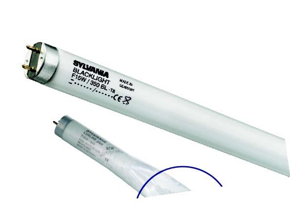 Лампа для ловушки насекомых специальная F40Вт T12 BL368 Toughcoat 24² (в защитной оболочке) Sylvania фото, цена