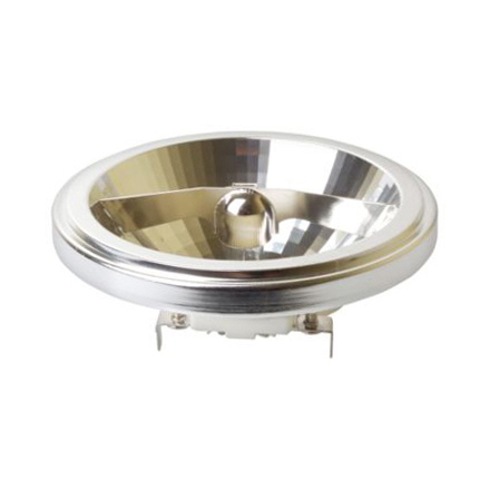 Лампа галогенная  AR111 с алюминиевым рефлектором AR111/50W/12V FL General Electric фото, цена