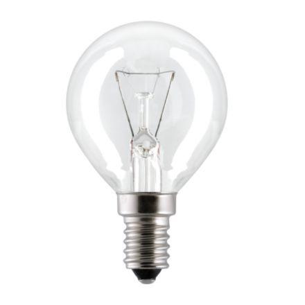 Лампа накаливания шар 25D1/CL/E14 General Electric фото, цена