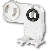 Патрон для люмінесцентних ламп (G13, який встановлюється з лицьового боку) фото, цена