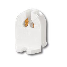 Патрон для люмінесцентних ламп (G5, який встановлюється з тильного боку) фото, цена