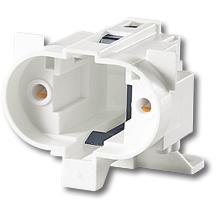 Патрон для компактних люмінесцентних ламп (G23) фото, цена