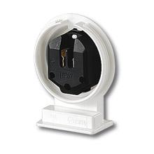 Патрон пиловологозахищений для люмінесцентних ламп фото, цена