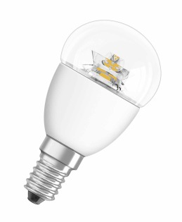 Лампа светодиодная S CL P25 4W/840 фото, цена