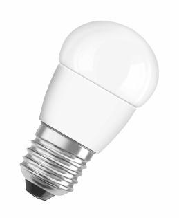 Лампа светодиодная SUPERSTAR P40 диммируемая, 6,5W, E27, 2700 K фото, цена