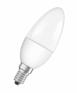 Лампа светодиодная Star B40, 6,5W, E14, 2700K фото, цена