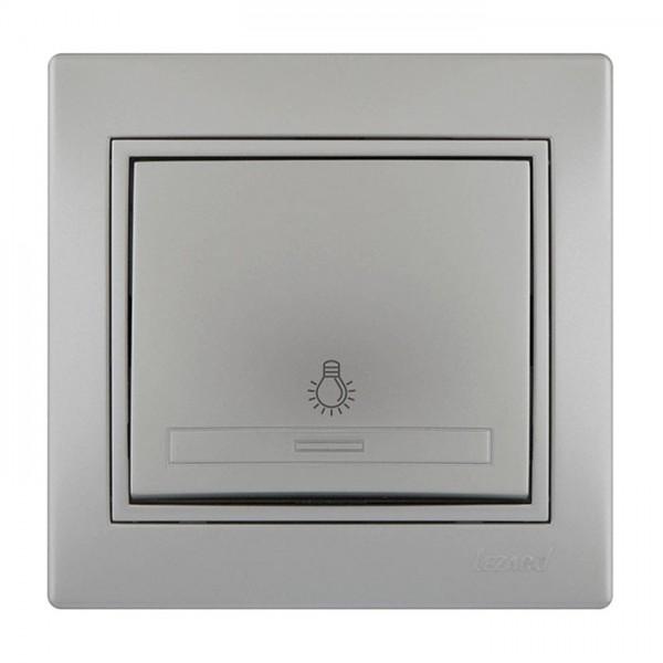 Кнопка таймера, сірий металік, Mira фото, цена