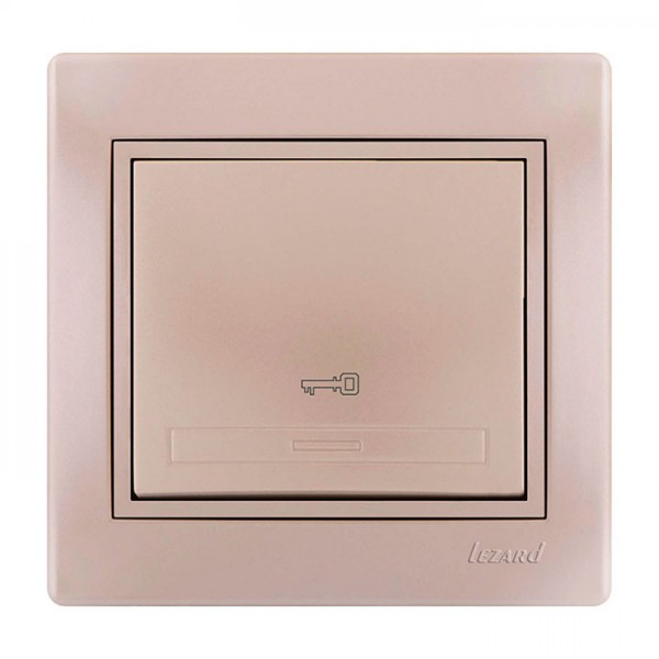 Кнопка дверного автомата, жемчужно-белый металлик, Mira фото, цена