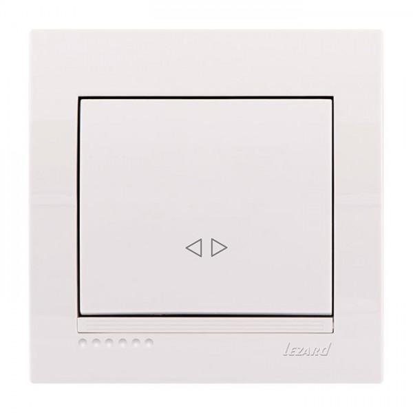 Выключатель промежуточный, белый, Deriy фото, цена